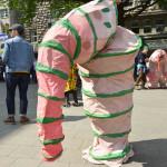 Tunnelwurm Kostüm
